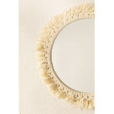Round Wall Mirror in Macrame (Ø40 cm) Colin, thumbnail image 3