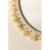 Round Wall Mirror in Macrame (Ø40 cm) Colin, thumbnail image 4