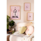 Set of 3 Decorative Sheets (50x70 and 30x40 cm) Buddha, thumbnail image 1