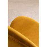Dining Chair in Velvet Fior, thumbnail image 6