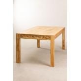 Rectangular Wooden Dining Table (183x94 cm) Alba, thumbnail image 3