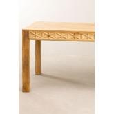Rectangular Wooden Dining Table (183x94 cm) Alba, thumbnail image 4