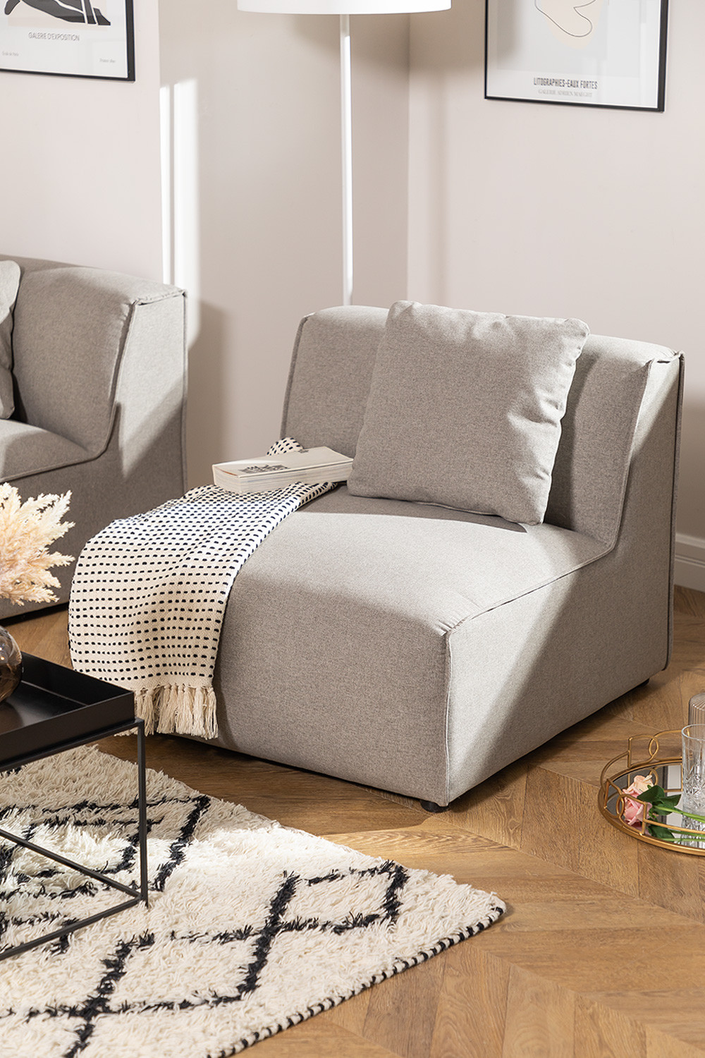 Centre Armchair for Aremy Modular Sofa, gallery image 1
