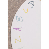 Individual Round Vinyl Tablecloth Letters Kids, thumbnail image 3