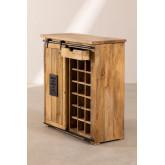 Wooden Wine Rack Cabinet Uain, thumbnail image 4