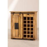 Wooden Wine Rack Cabinet Uain, thumbnail image 5