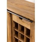 Wooden Wine Rack Cabinet Uain, thumbnail image 6