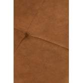 High Stool with Back in Leatherette Ospi, thumbnail image 5