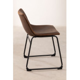Leatherette Upholstered Chair Ody Style, thumbnail image 3