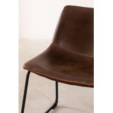 Leatherette Upholstered Chair Ody Style, thumbnail image 4