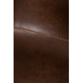 Leatherette Upholstered Chair Ody Style, thumbnail image 6