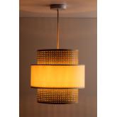Rattan Ceiling Lamp Satu, thumbnail image 4