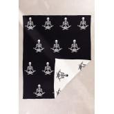Sally Cotton Plaid Blanket, thumbnail image 3