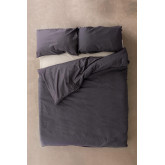 Rectangular Cushion Cover in Linen and Cotton (50x75 cm) Ragnar, thumbnail image 4