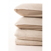 Rectangular Cushion Cover in Linen and Cotton (50x75 cm) Ragnar, thumbnail image 2