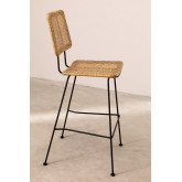 High Stool in Synthetic Wicker Shelly, thumbnail image 2