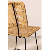 High Stool in Synthetic Wicker Shelly, thumbnail image 4