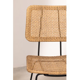 High Stool in Synthetic Wicker Shelly, thumbnail image 3