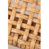 High Stool in Synthetic Wicker Shelly, thumbnail image 6