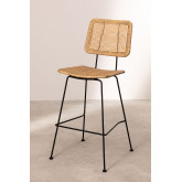 High Stool in Synthetic Wicker Shelly, thumbnail image 1