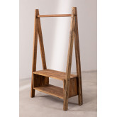 Recycled Wooden Coat Rack Arcieh, thumbnail image 2