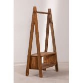Recycled Wooden Coat Rack Arcieh, thumbnail image 3