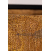 Selan Wood Wall Coat Rack, thumbnail image 6