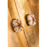 Set of 2 Ceramic Knobs Flowe, thumbnail image 3