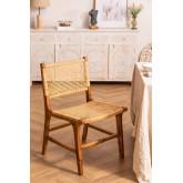 Catua Garden Chair in Teak Wood, thumbnail image 3