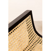 High Stool with Wooden Backrest Mikel, thumbnail image 4