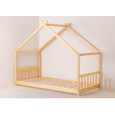 Kids Wooden Bed for Mattress 90 cm Maggie , thumbnail image 2