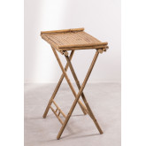 Side Table with Tray in Bamboo Tonga, thumbnail image 3