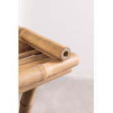Side Table with Tray in Bamboo Tonga, thumbnail image 5