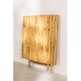 Allen Bamboo Folding Table, thumbnail image 4