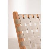 Garden Chair in Teak Wood Diama, thumbnail image 5