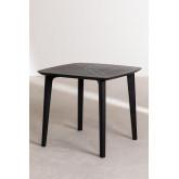 Square Outdoor Polyethylene Table (85x85 cm) Tina, thumbnail image 2