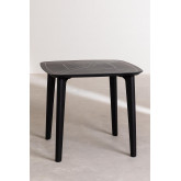 Square Outdoor Polyethylene Table (85x85 cm) Tina, thumbnail image 3