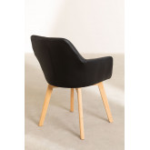 Pack of 2 Upholstered Dining Chairs Marh Style , thumbnail image 5