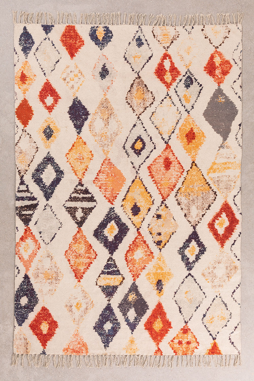 Cotton Rug (195x125 cm) Yuga, gallery image 1