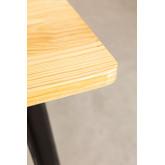 Vintage Wooden LIX Table (80x80), thumbnail image 4
