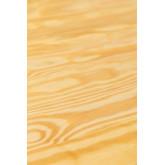 Vintage Wooden LIX Table (80x80), thumbnail image 6