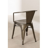 Brushed LIX Chair with Armrests, thumbnail image 4