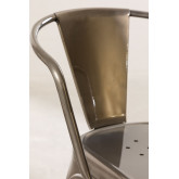 Brushed LIX Chair with Armrests, thumbnail image 5