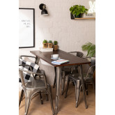 Brushed Wooden LIX Table (120x60), thumbnail image 1