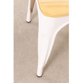 Wooden Matte LIX Chair, thumbnail image 5