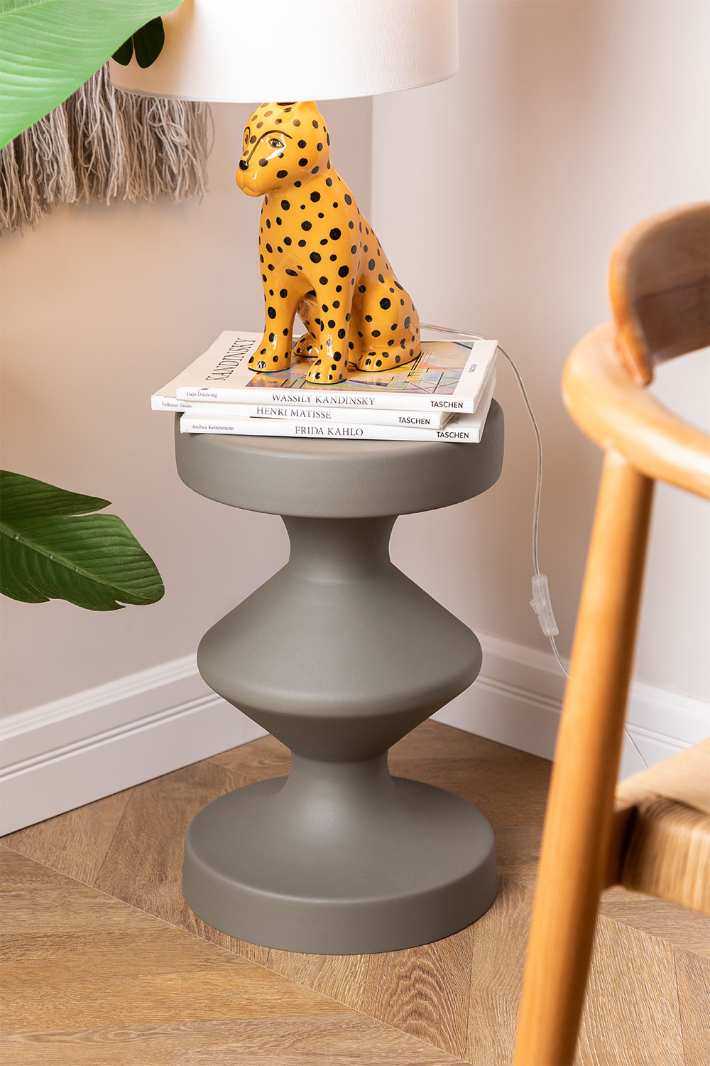 Round Metal Side Table (Ø31 cm) Zhou , gallery image 1