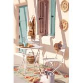 Garden  Set  Foldable Table (60x60 cm) & 2 Foldable Chairs Janti , thumbnail image 1