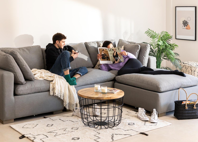 Sofa Modules in Fabric Belah, gallery image 1