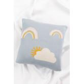 Square Cotton Cushion (35x35 cm) Ellie Kids, thumbnail image 2