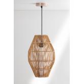 Khumo Bamboo Ceiling Lamp, thumbnail image 1